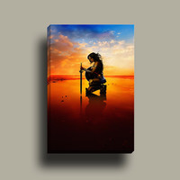 Wonder Woman 2017 v-2 | Mirror Wrap Professional Canvas