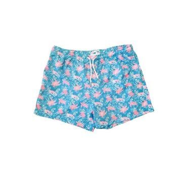 Bermies Originals Sea Turtle Trunks Blue