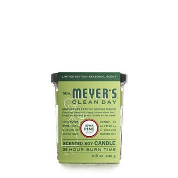 Mrs. Meyer's Soy Candle - Iowa Pine - Case Of 6 - 4.9 Oz Candles