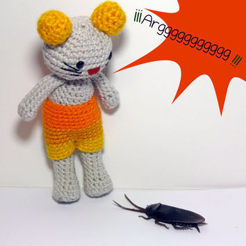 Amigurumi Mighty  mouse