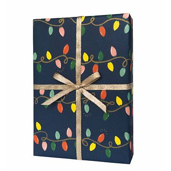 Holiday Lights Rifle Paper Co. Wrapping Sheets - Roll