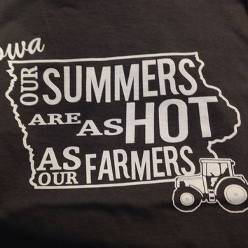 Iowa Hot Farmers Tee