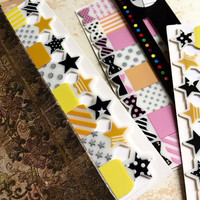 star sticky note star sticky flag cute sticky memo lovely star note PVC star planner reminder star reminder cute stationery little gift