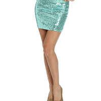 Sequin Mini Skirt | Shop Trending Now at Wet Seal