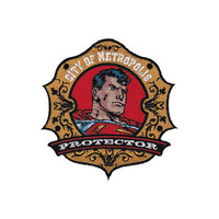 Superman Metropolis Protector Iron-On Patch