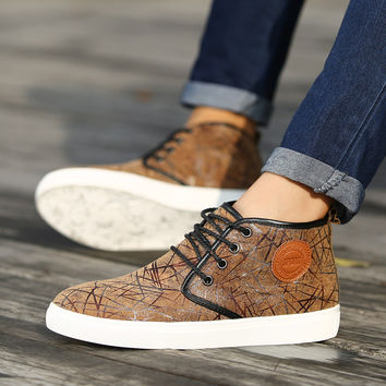 Mens Leather Shoes = 4443385092