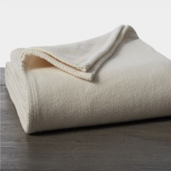 Sequoia Undyed Organic Blankets & Throws
