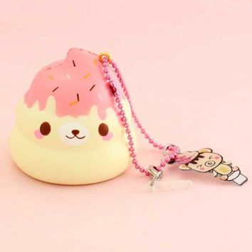 Creamiicandy Limited Edition Mini Yummiibear Poop Squishy Charm