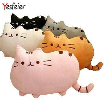 40*30cm plush toy stuffed animal doll anime toy pusheen cat pusheen skin girl kid kawaii,cute cushion brinquedos Kids