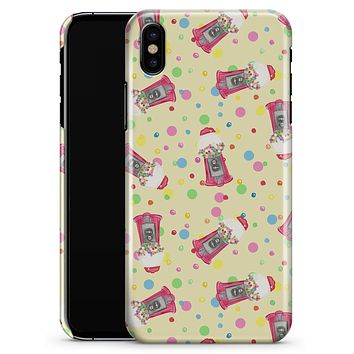 The Fun Colorful Gumball Machine Pattern - iPhone X Clipit Case