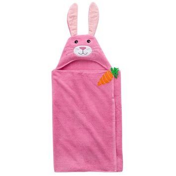 Blossoms & Blooms Bunny Bath Wrap (Generic)