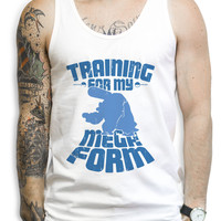 Training For My Mega Form Blastoise Tank Tops