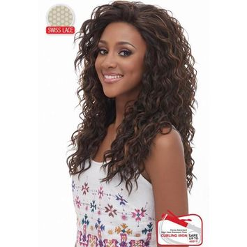 LACE FRONT RIPPLE CURL WIG, SWISS MELLOW BASE (LSM05)