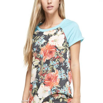 Summertime Blues Top