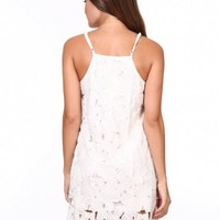 EMILY WHITE WEATHER DRESS