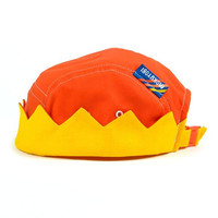 Red Crown 5 Panel Hat