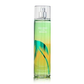 SHIP BY USPS Bath and Body Works Coconut Lime Breeze Fine Fragrance Mist 8 Ounce