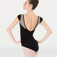 Body Wrappers: Lace Cap Sleeve Leotard