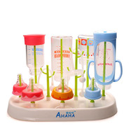 High quality baby stuff baby bottle rack practical bottle rack plastic baby bottles drying rack convenient drain pacifier holder