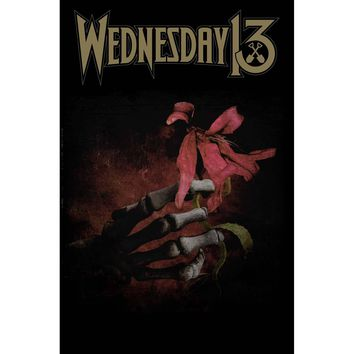 Wednesday 13 Poster Flag