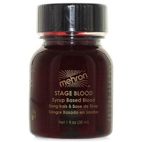 Mehron Coagulated Blood Gel Professional Costume Makeup - 1 Ounce