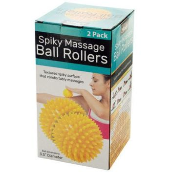 Spiky Massage Ball Rollers Set ( Case of 6 )