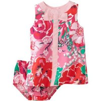 Lilly Pulitzer Baby-Girls Newborn Lilly Shift Dress With Bow $68.00