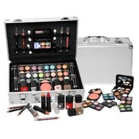 Amazon.com: SHANY Cosmetics Carry All Train Case with Makeup and Reusable Aluminium Case - Cameo: Beauty
