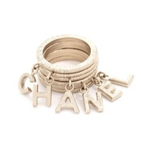 Chanel Dangling Letters Ring Set (Previously Owned)