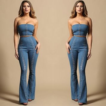 Denim Hook Set (Pants and Top may be purchased separately)