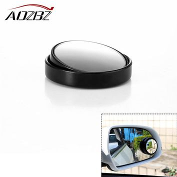 AOZBZ Car Rear View Mirror Wide Angle Blind Spot Mirror Round Convex Parking Mirror Auto Exterior Accessory Round