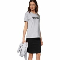 Bench Grown On Sleeve Corp Print Tee buy and offers on Dressinn