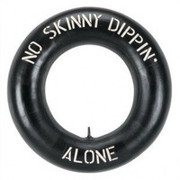"Nilima Home's product - RAM Gameroom ""No Skinny Dippin' Alone"" Outdoor Sign - ODR285 - All Wall Art - Wall Art & Coverings - Decor"