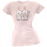 MTV - Bunny Logo Juniors T-Shirt