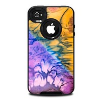 The Vivid Colored Wet-Paint Mixture Skin for the iPhone 4-4s OtterBox Commuter Case