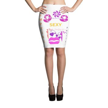 Custom and colorful Pencil Skirt