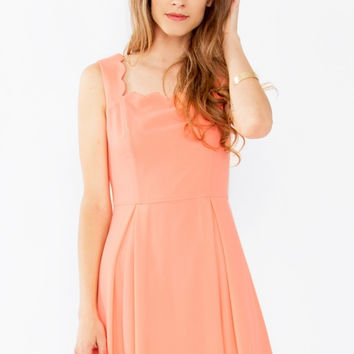 Sugar Lips Im Yours Sleeveless Fit and Flare Dress