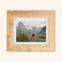 Kevin Russ Mint Hut Art Print