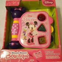 Dicovery Toys Educational Learning Book Disney Minnie Mouse Girl