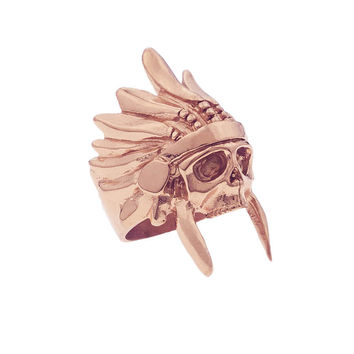 *Mister  Indian Chief Ring - Rose Gold