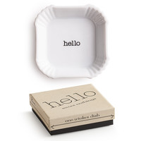 "Sweet Nothings ""Hello"" Dish"