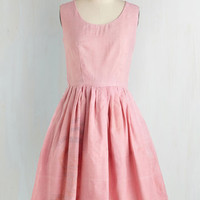 Eco-Friendly Mid-length Sleeveless Fit & Flare Come Full Cycle Dress by ModCloth