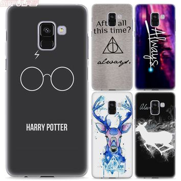 BiNFUL Harry Potter always style transparent clear phone shell case for Samsung A8 2018 A310 A510 A5 2017 A710 A7 2017 A9