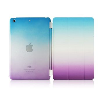 CTRINEWS Smart Case for iPad 4 3 2 Ultra Thin Magnetic Wake up / Sleep PU Leather Stand Cover for iPad 4 Case PC Back Cover
