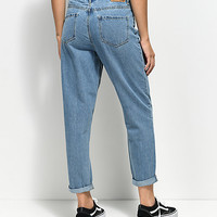 Unionbay Vintage Light Wash Mom Jeans | Zumiez