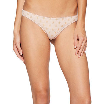Free People Star Mesh Thong