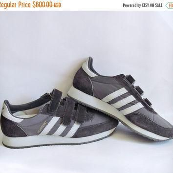 SALE The Monterey // Vintage 80s Sneakers Shoes // 1980s Deadstock NOS Brown Adidas Mo