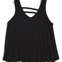 Girl's T2 Love Strappy V-Neck Tank,