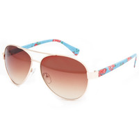 FULL TILT Floral Aviator Sunglasses 236930200 | 2 for $15 Sunglasses