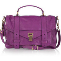Proenza Schouler | PS1 Medium leather satchel | NET-A-PORTER.COM